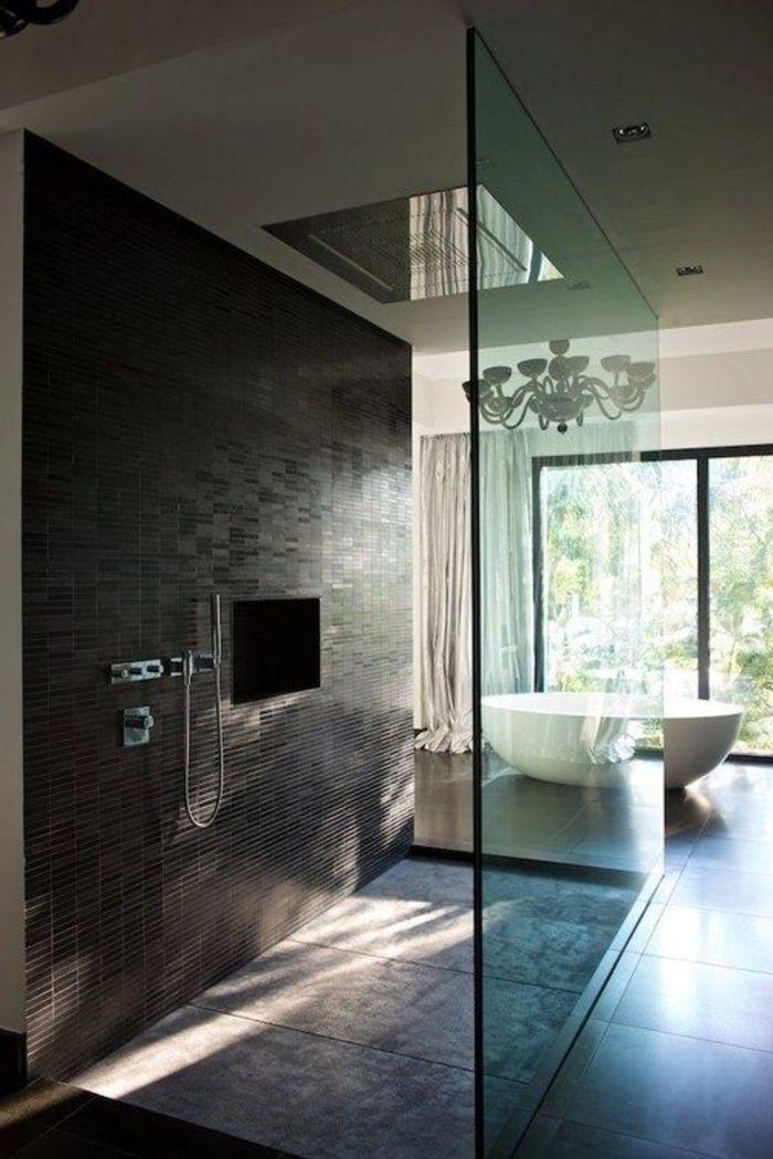 Relooker une salle de bain, 42 idées en photos! | Grande baignoire ...