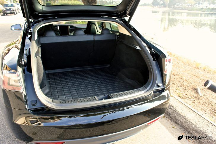Tesla Model X Trunk Photo Theres Reason For The 2017 Cars