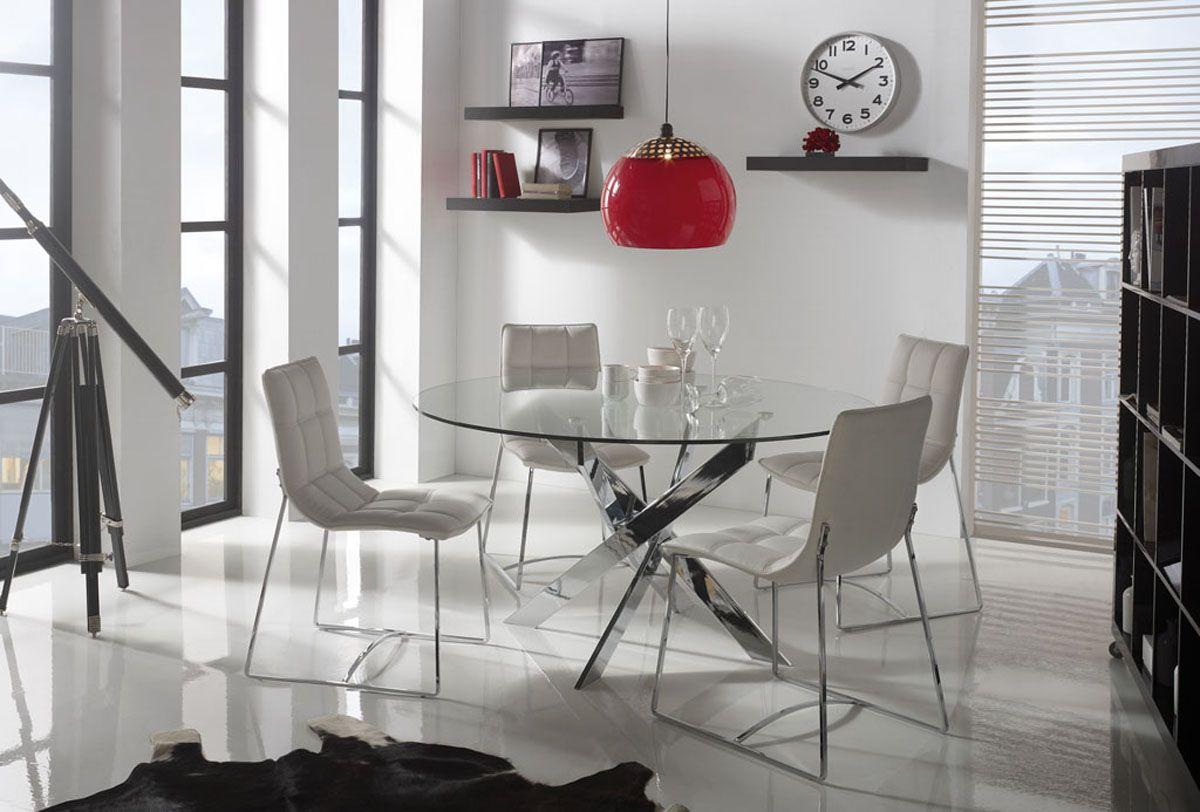 Mesas de comedor redondas de dise o decoracion porches y - Merkamueble comedores ...