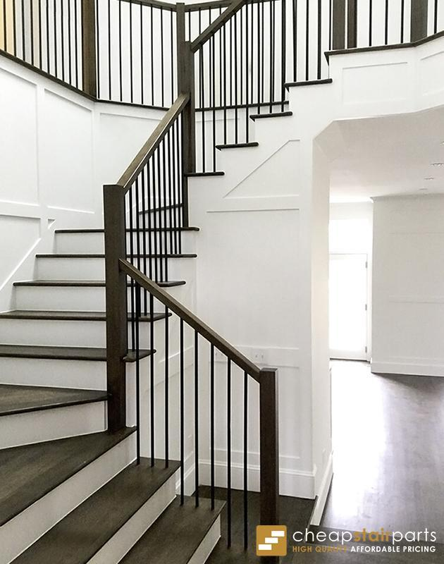 16 2 1 T Plain Square Bar Iron Baluster With Images Stair