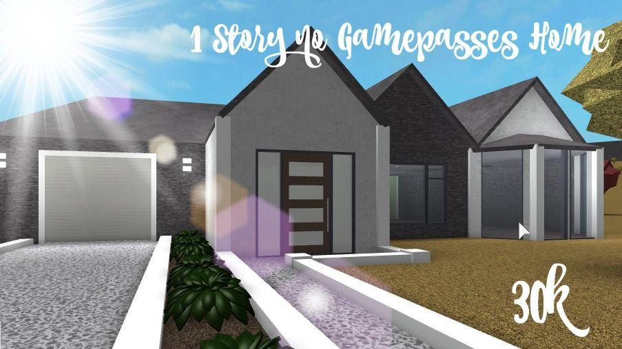 Lovely Bloxburg Home Suburban Homes In 2019 Modern House Design