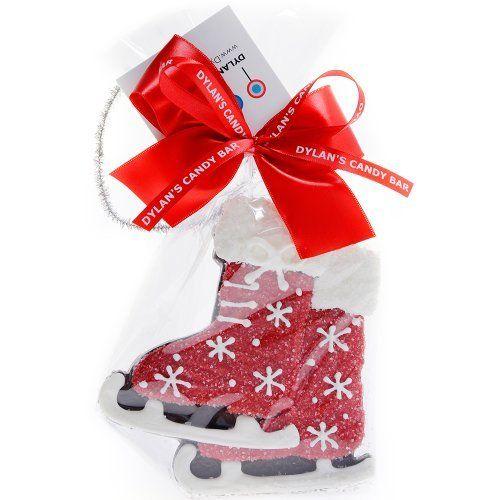 Handmade Ice Skates Chocolate Crispie : Holiday Ornaments