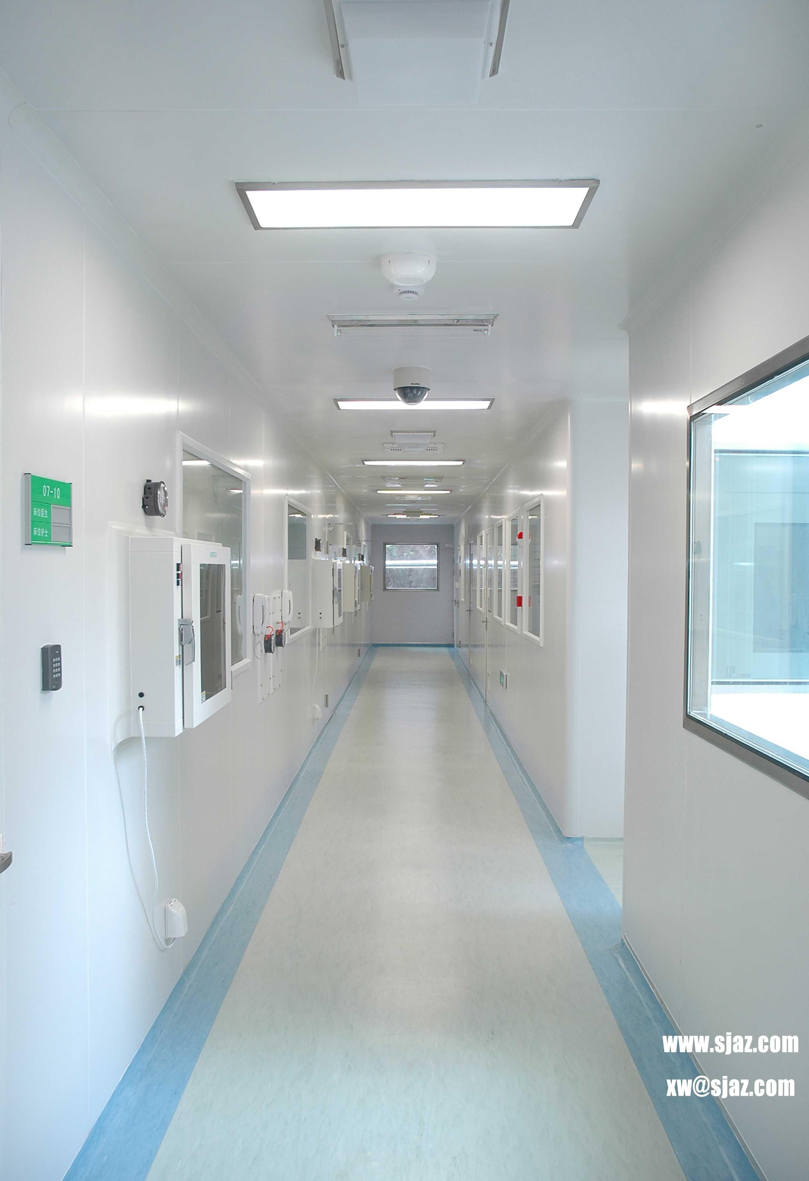 "Cleanroom Application in Hospital""Negative Pressure"