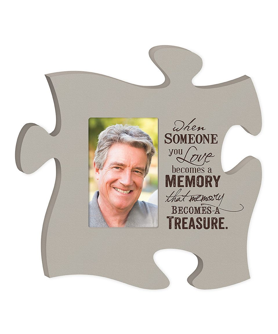Another great find on zulily treasure puzzle piece photo frame treasure puzzle piece photo frame by p jeuxipadfo Images