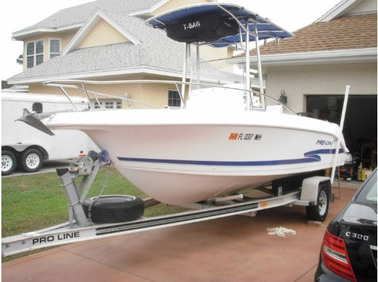 Used 2003 Pro-line 20 Foot Center Console Fishing Boat