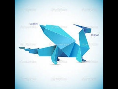 how to make an easy origami dragon origami tutorial for