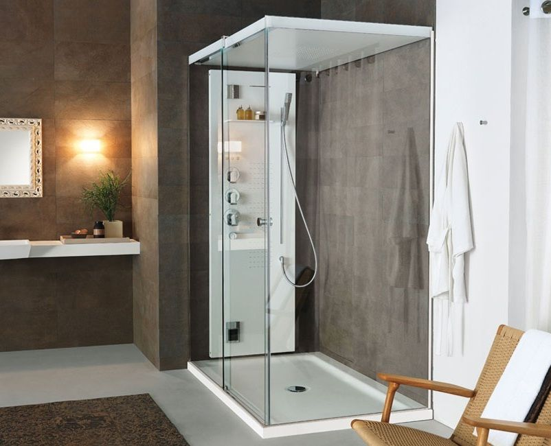 Teuco cabina de ducha light xxl tono bagno barcelona for Cabinas de ducha medidas