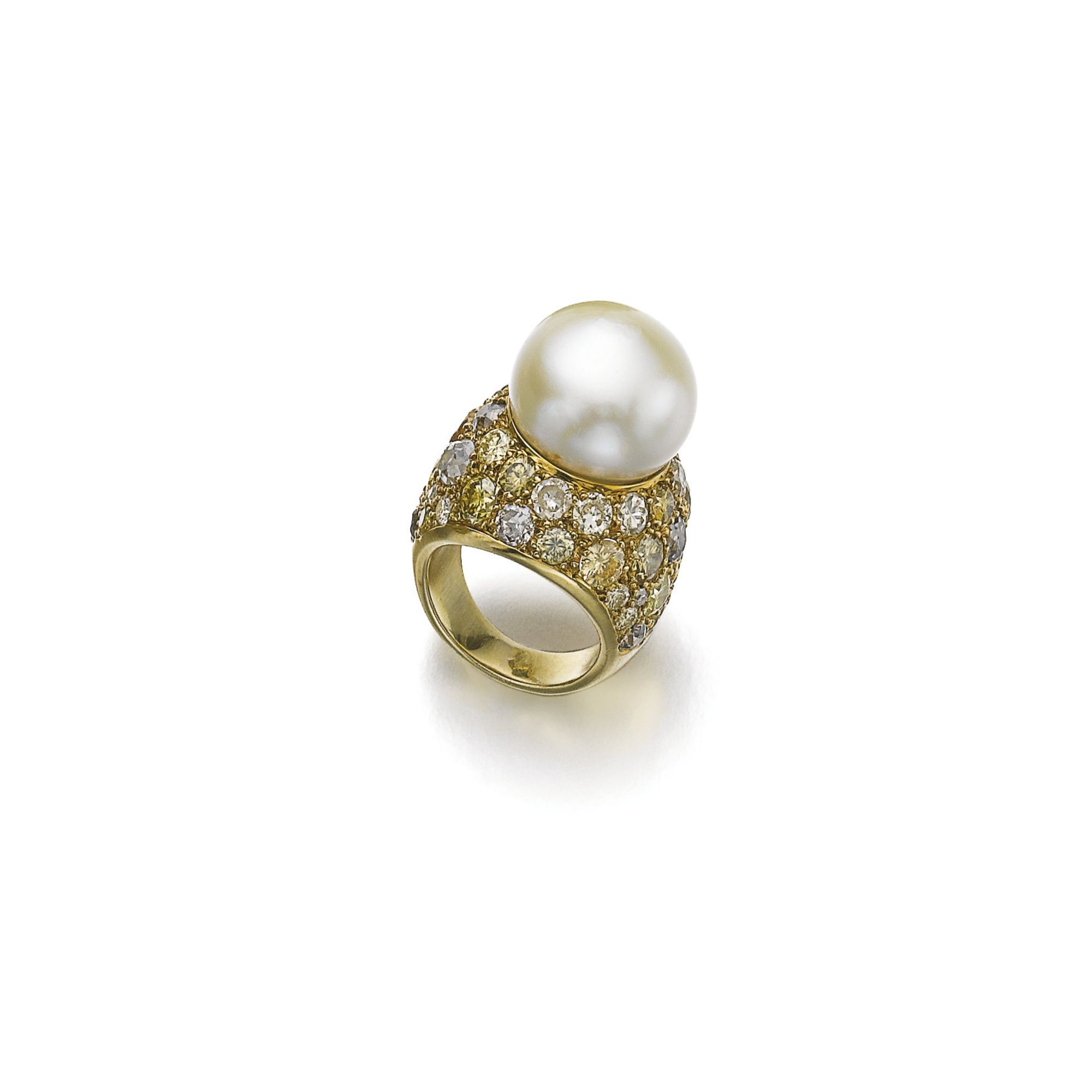 Cultured Pearl And Diamond Ring, Suzanne Belperron, 1964  Lot  Sotheby's