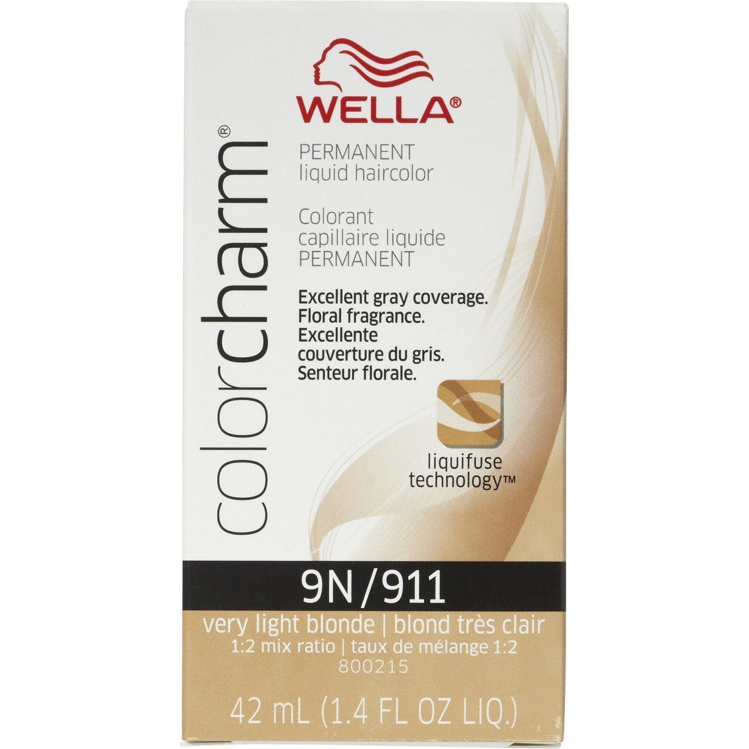 Wella Color Charm 9N/911 Very Light Blonde Permanent Liquid Hair Color Value Packs (12 pcs) *** Click image to review more details.