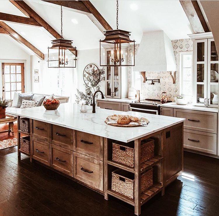 Rustic Italian Farmhouse Perfection Farmhouse Kitchen Design