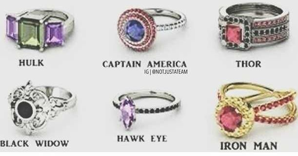 Marvel Engagement Rings Google Search