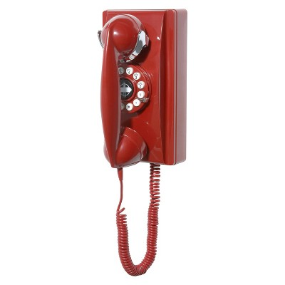 Crosley Wall Phone - Red (CR55-RE) #wallphone