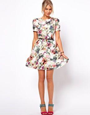 19213abcf65b Oasis Photographic Floral Print Dress | $85 | Wear | Pinterest ...