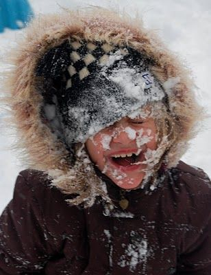Snowflakes that stay on my nose and eyelashes | Dream kids ...