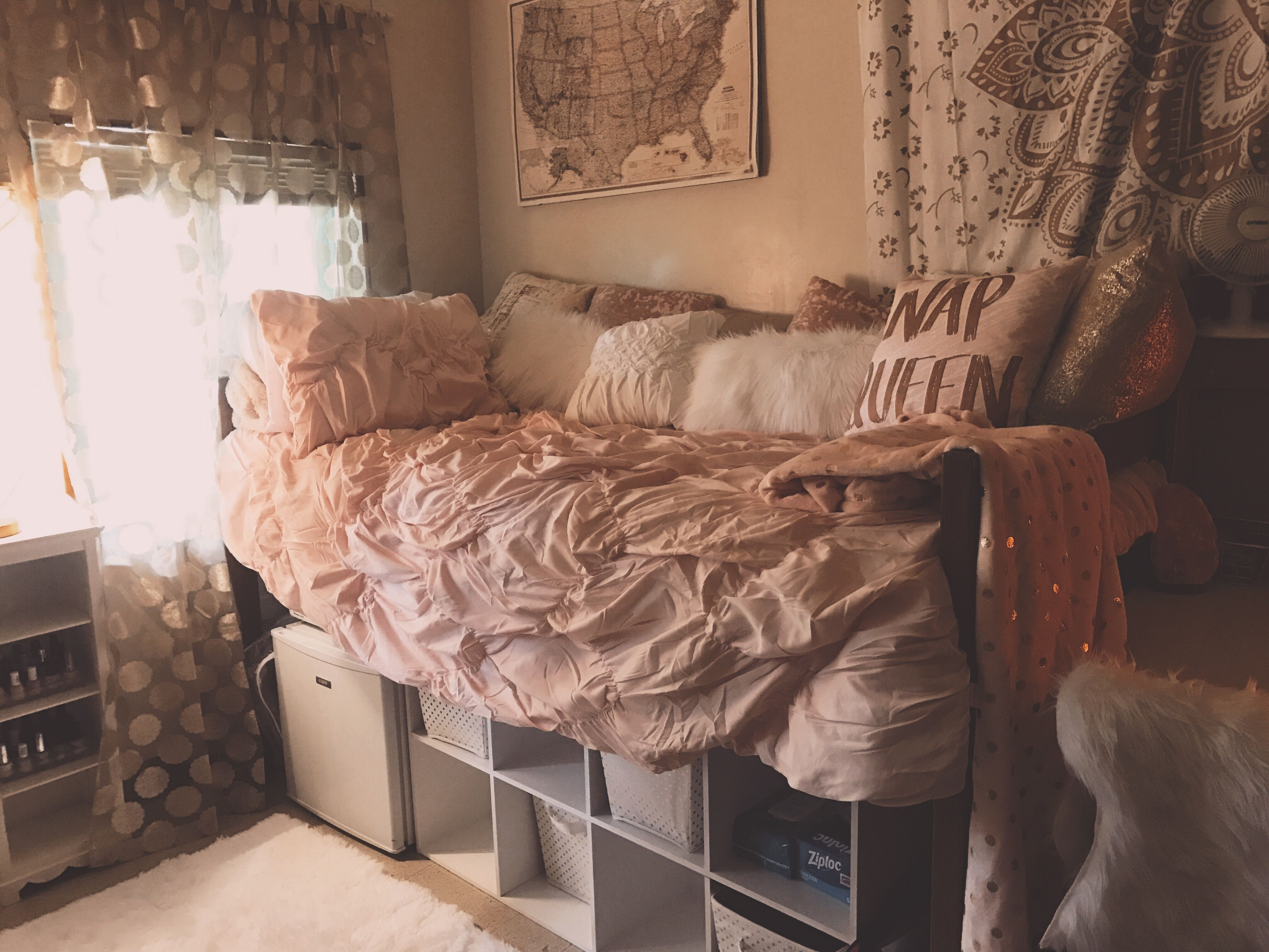 mirror girl gray framed garrett with randi frames s and tween design gold bedroom pink by pinkandgoldgirlsbedroommakeover makeover