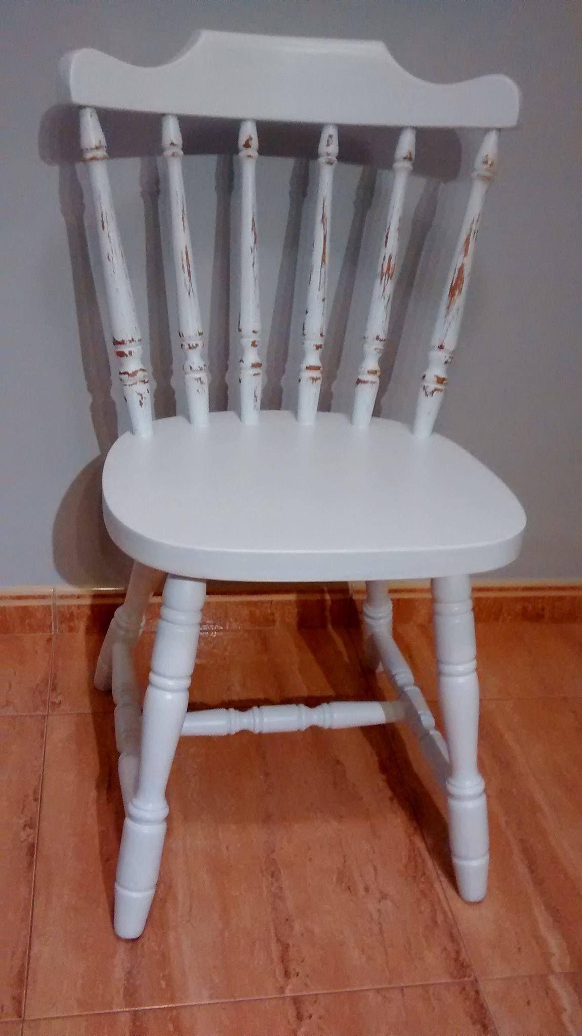 Silla restaurada sillas pinterest sillas - Sillas restauradas ...