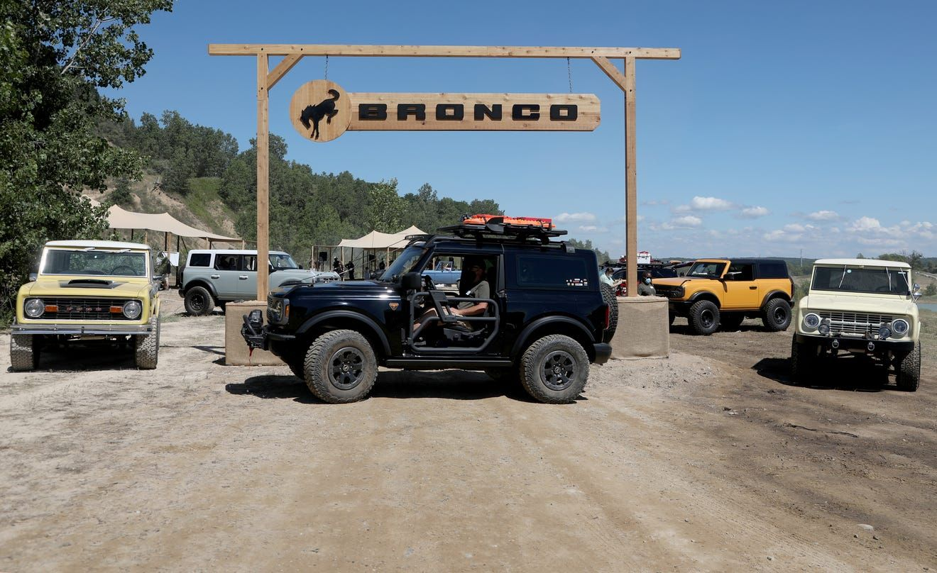 Introducing the Bronco TwoDoor Badlands Trail Rig