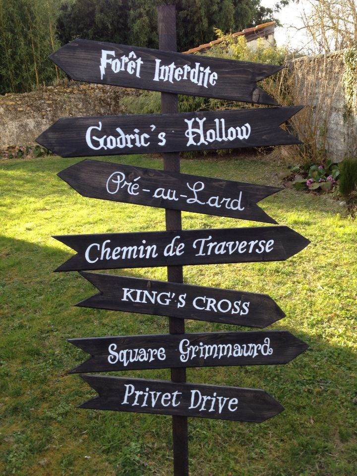 diy panneau pour anniversaire harry potter ks harry. Black Bedroom Furniture Sets. Home Design Ideas