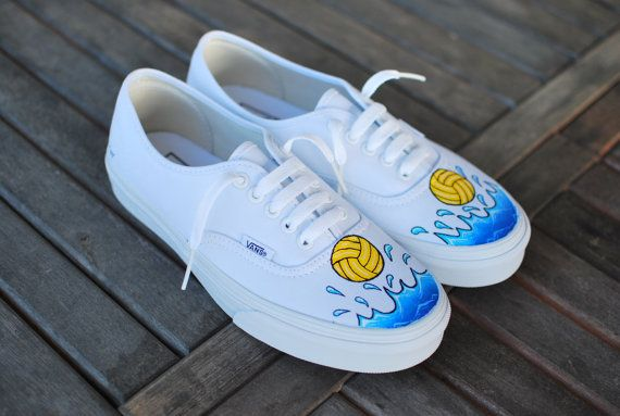 86745a571b38a Waterpolo Vans Authentic by BStreetShoes on Etsy, $99.00 | Custom ...