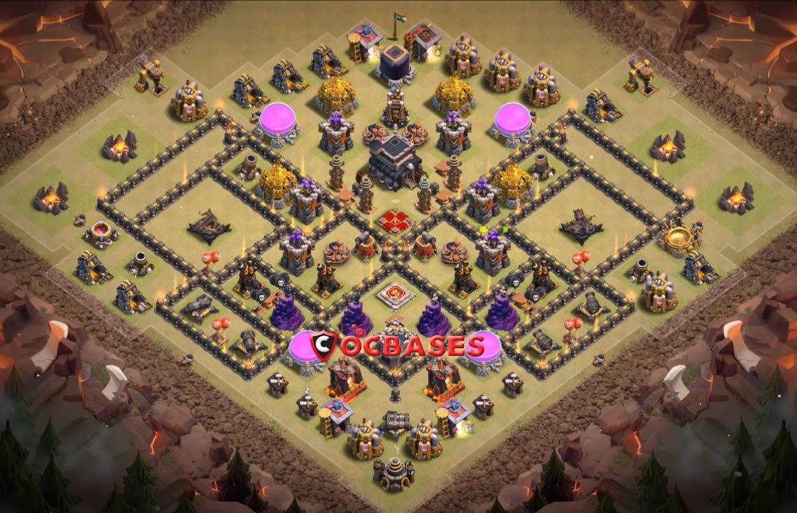 Base War Th 9 Anti 3 Star 6
