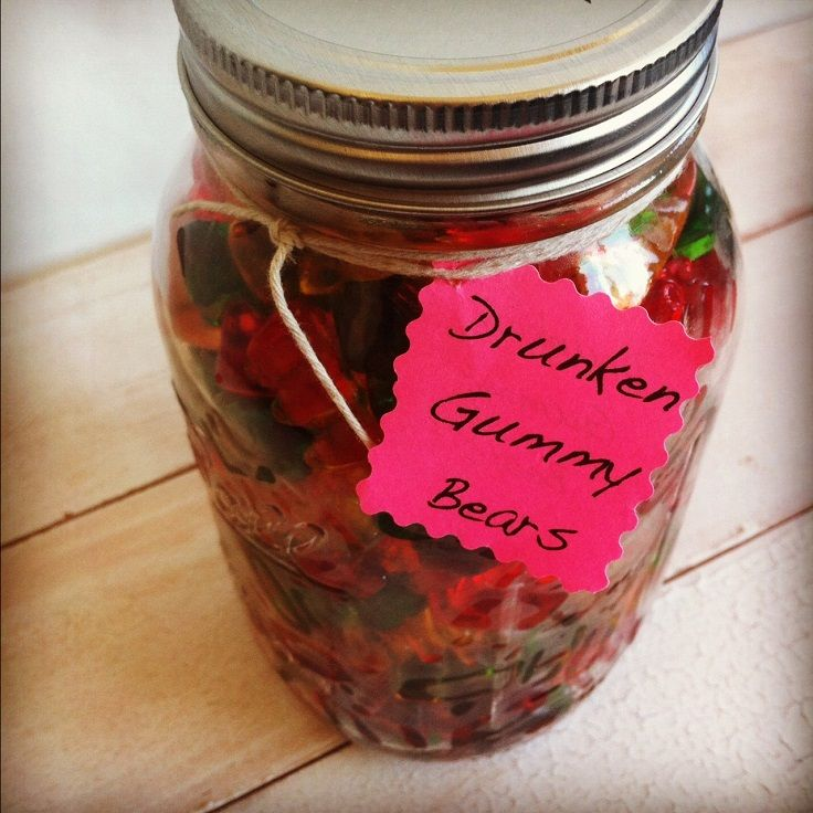 Drunken Gummy Bears | Pinterest | Alkohol und Geschenk