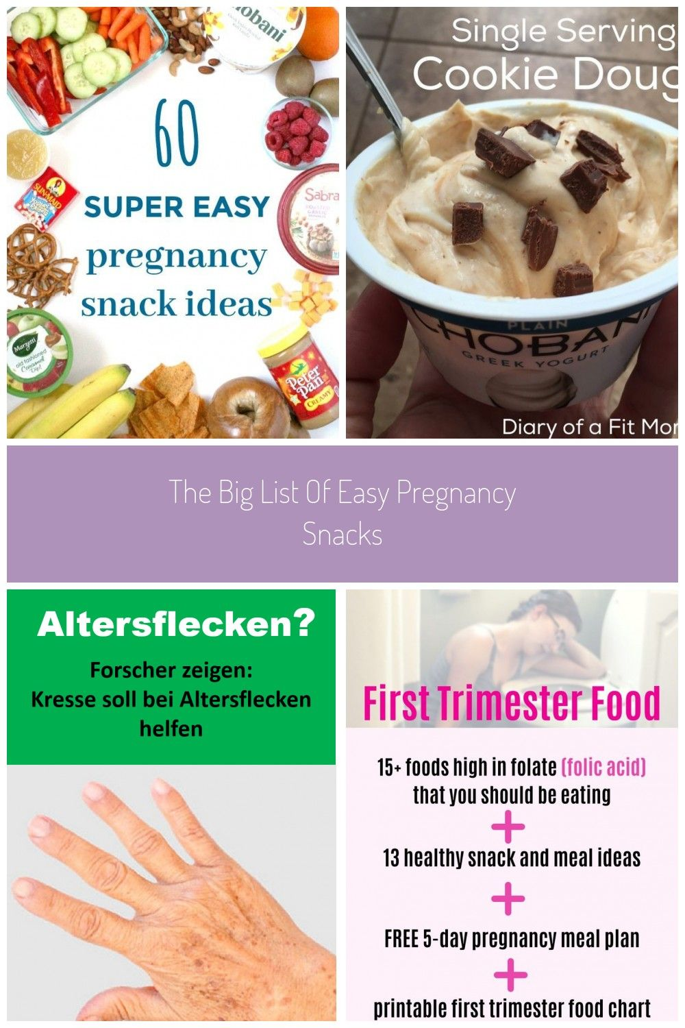 60 snack ideas for pregnant mamas who are looking for