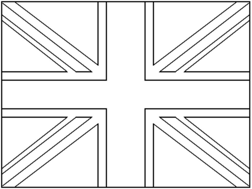 Risultati Immagini Per Bandiera Inglese Da Colorare Scuola