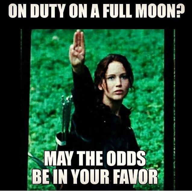 Funny Day Shift Meme : Calls during the full moon nurse life pinterest