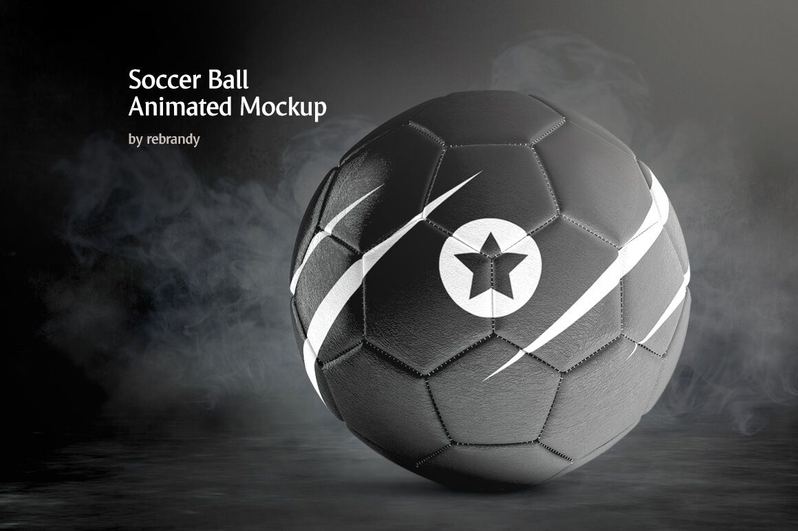 Download Soccer Ball Animated Mockup By Rebrandy Thehungryjpeg Com Sponsored Animated Ad Ball Soccer Thehung Soccer Ball Animation Types Colorful Backgrounds