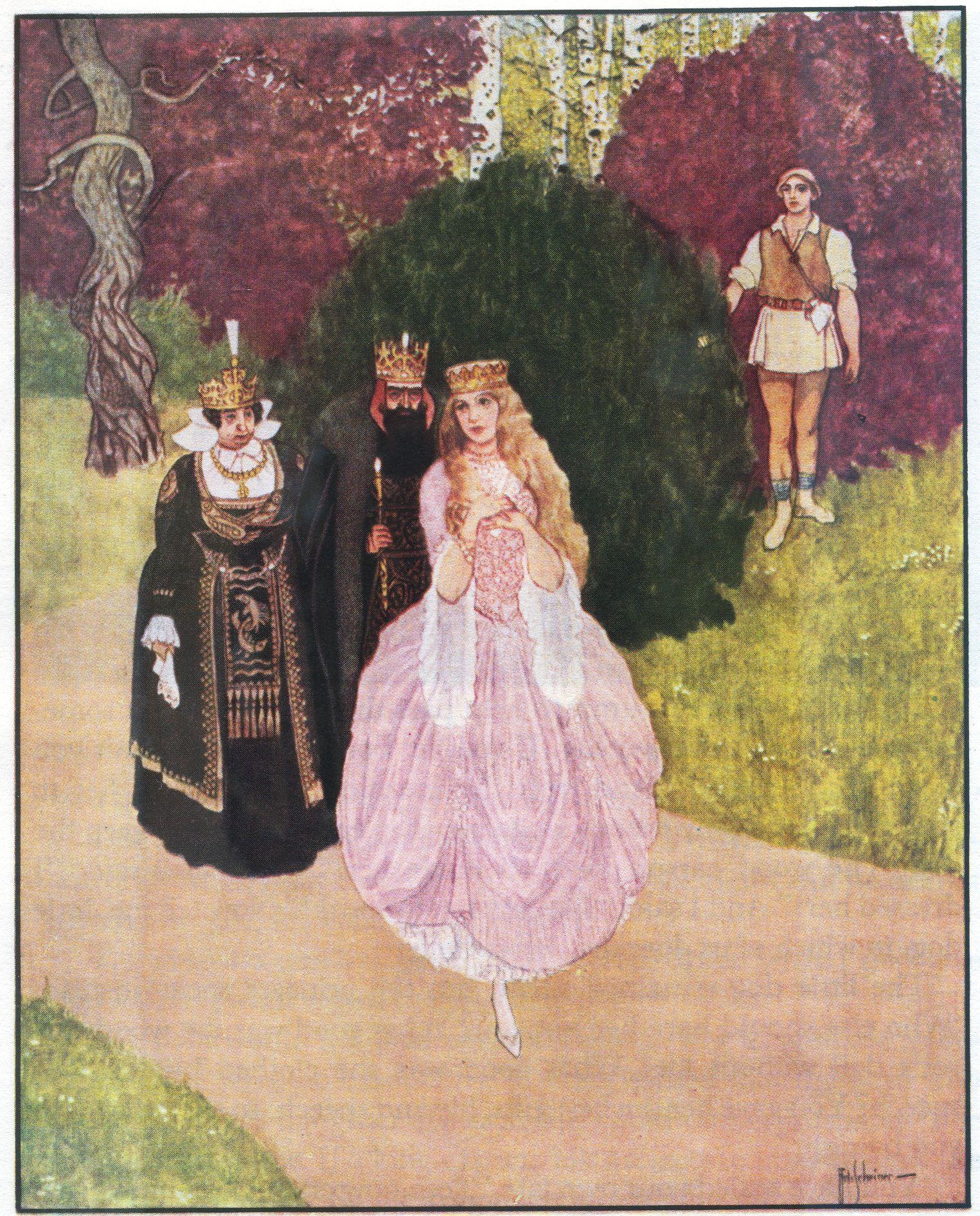 Artuš Scheiner - Illustration for Fairy Tales by K.J. Erben | Artuš ...
