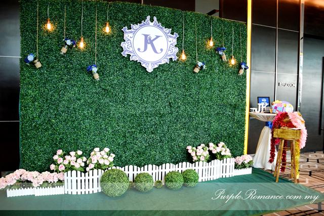 Royal Blue Outdoor Garden Wedding Theme At Connexion Nexus