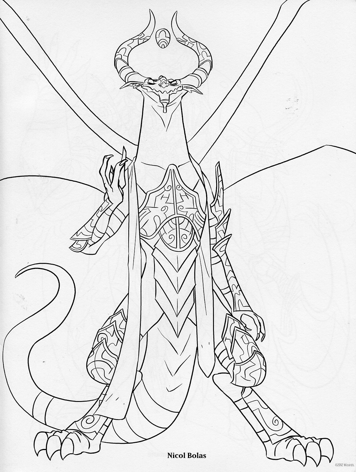 Duelist Cover Art Coloring Books Card Art Coloring Pages