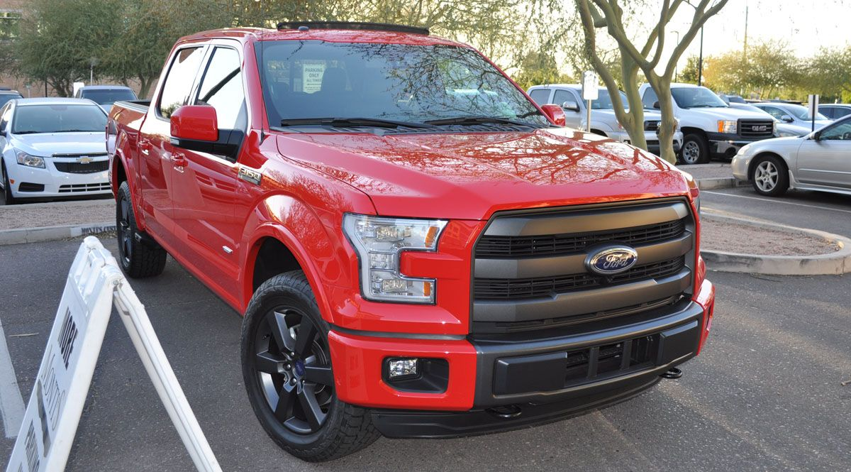 ford f 150 fx4 2015 red google search