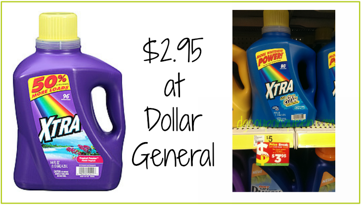 New Coupon Alert 1 1 Xtra Laundry Detergent 144 Oz Only 2 95