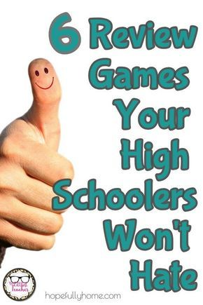 6 Review Games Your Students Will Love is part of Classroom games high school, High school activities, Review games high school, High school science, Teaching high school, High school education - Some days you just need a break from the monotony! Preparing for exams, transitioning to a new unit, days when half your students are gone for a basketball tou