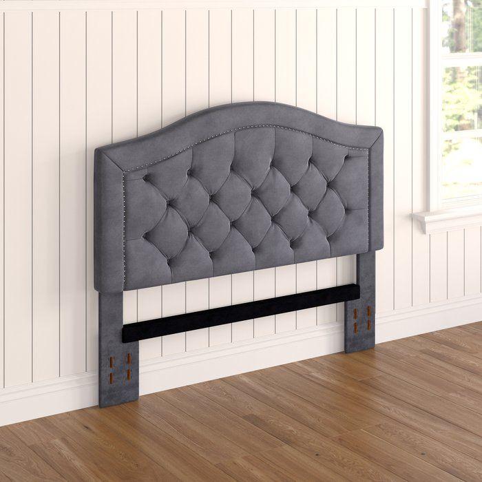 best service 1c1d5 16348 Gossman Upholstered Panel Headboard | Headboards for beds in ...