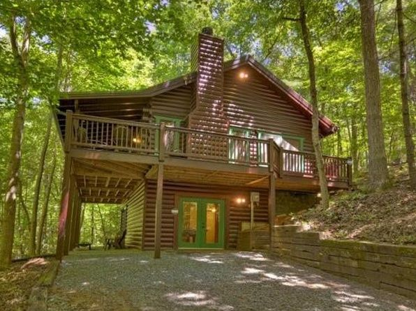 Gilmer Real Estate Gilmer County Ga Homes For Sale Zillow Cabin House In The Woods Ellijay