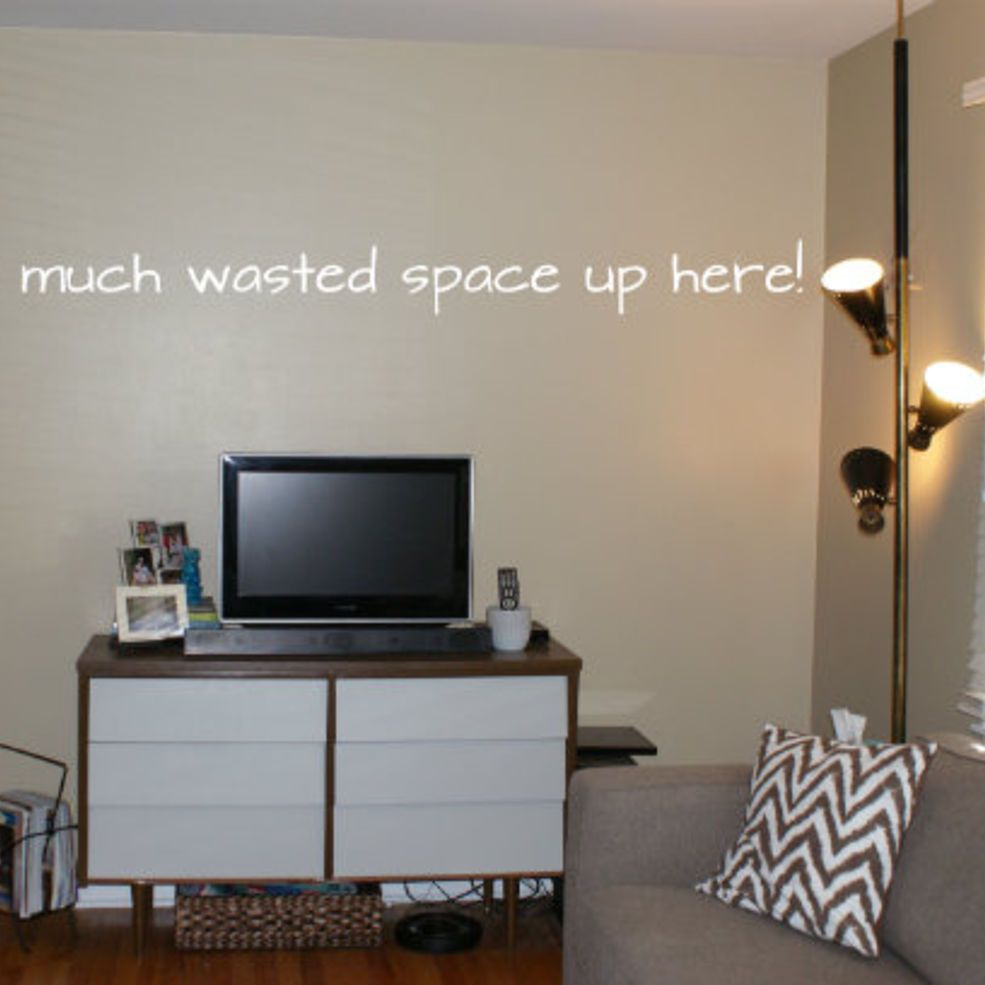 See How We Used A 79 Craigslist Find To Transform This Wall Interior Design Living Room Wood Home Decor Home Decor