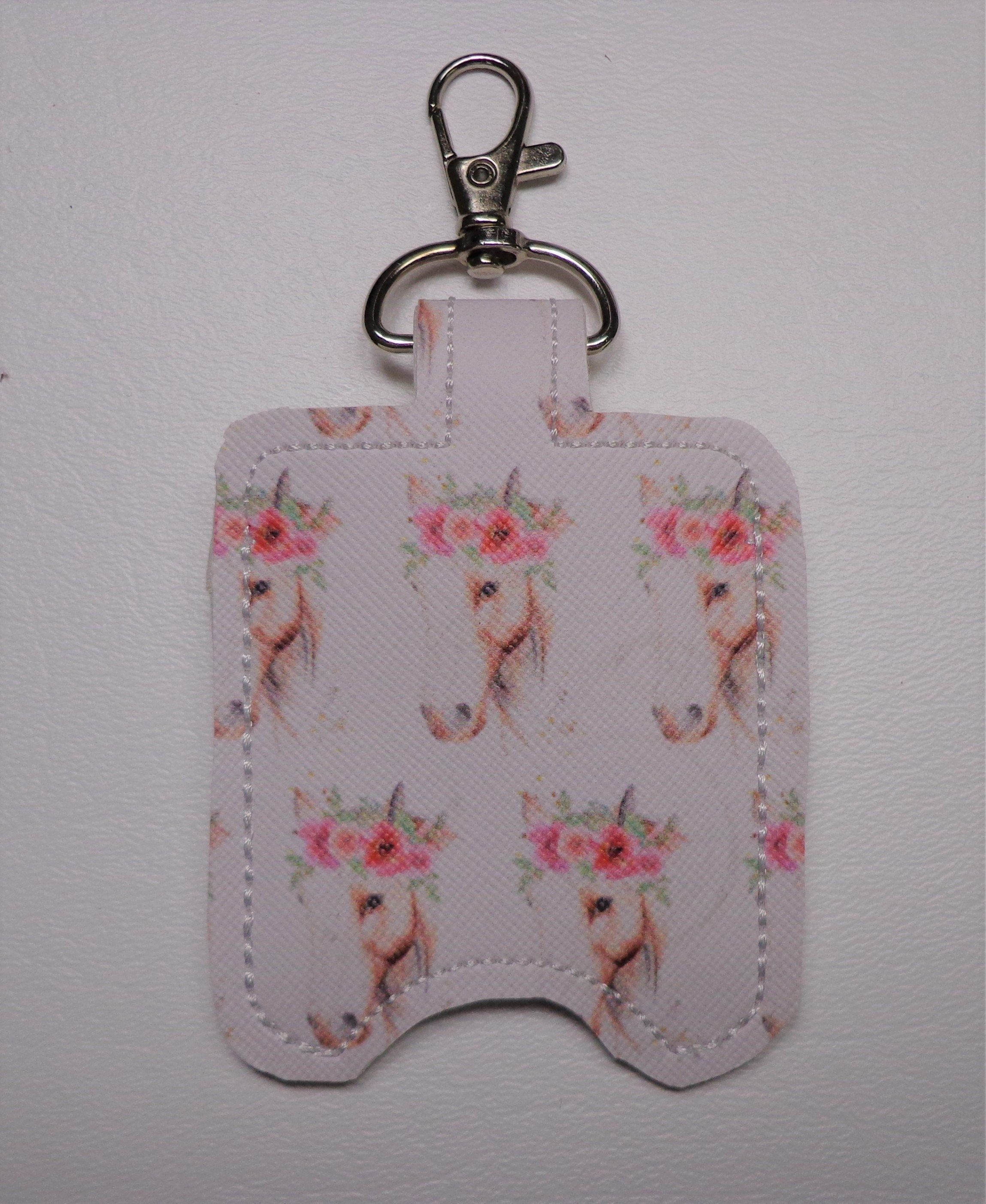 Horse With Floral Headband Hand Sanitizer Holder Hand Sanitizer