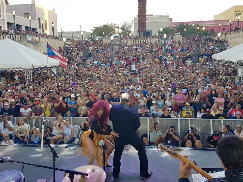 Iris Chacón Y Junno Faria Fiestas De Sanse 2019 Hillsong United Cyndi Lauper Concert