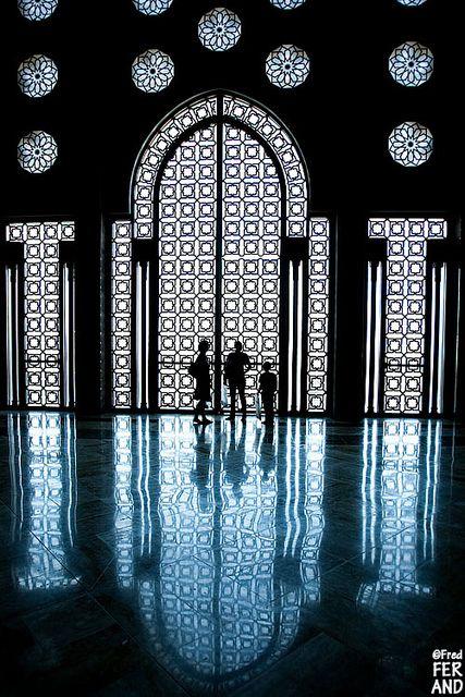 Masjid Al-Hassan II, La grande mosquée, Casablanca, Morocco
