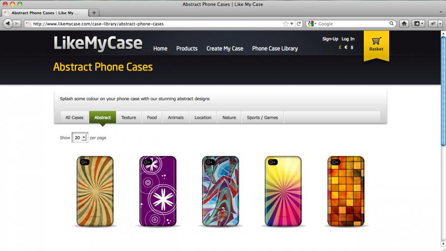 LikeMyCase | Configurator Database