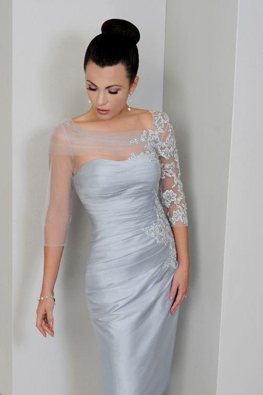 07b6f73bc5778 estelles mother of the bride dresses | IR1275-Platinum | Bridesmaids ...
