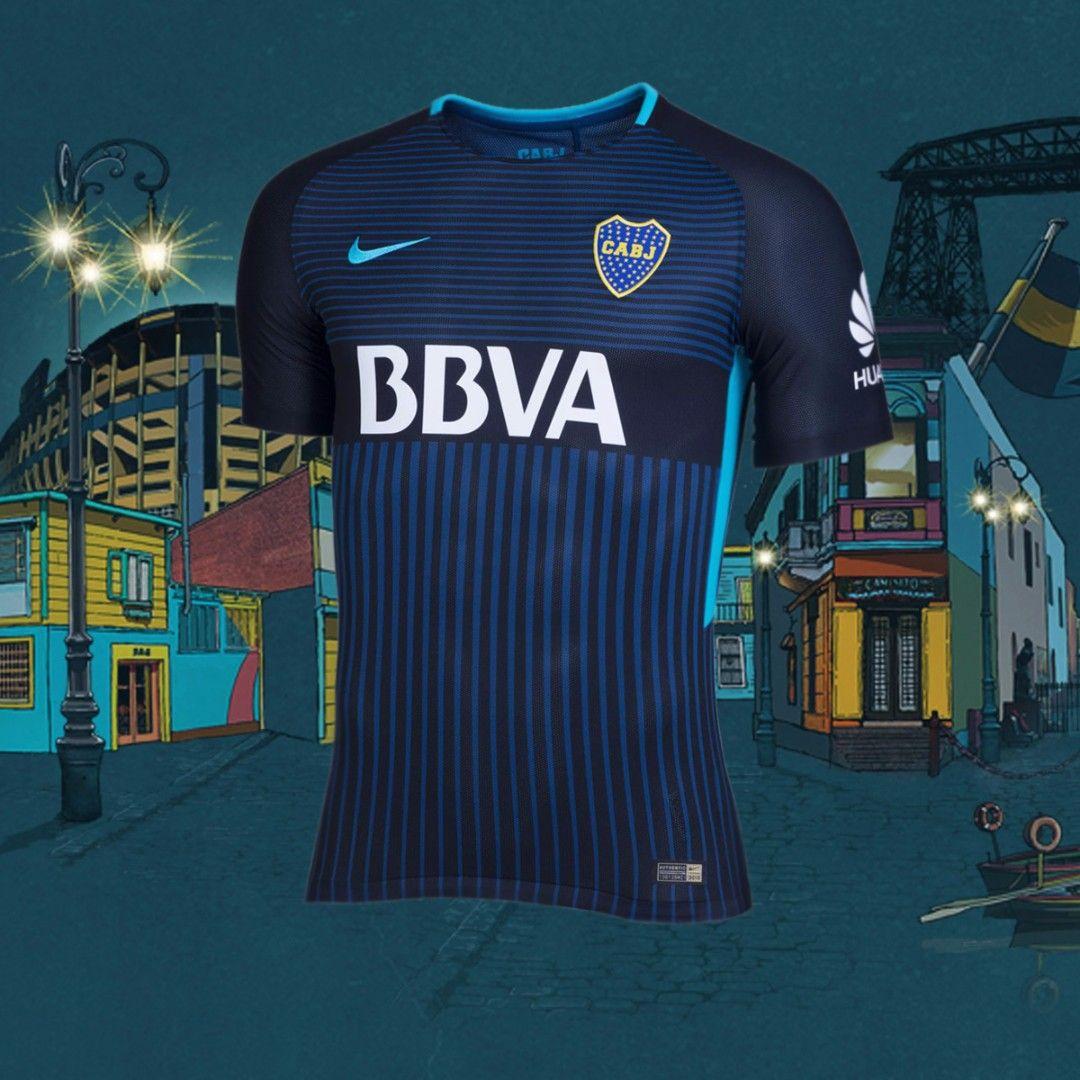 Camiseta alternativa Boca Juniors Stadium 3RD 2017 18. Conseguila en  nuestra Tienda Sport78. Art  847297011  camiseta  bocajuniors  xeneize   stadium  3RD ... 14904777f009a