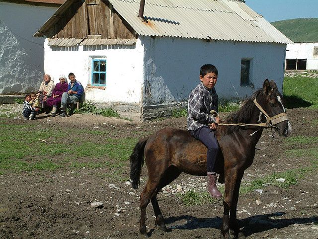 Village boy and his pony, Kazakhstan | Flickr - Photo Sharing!
