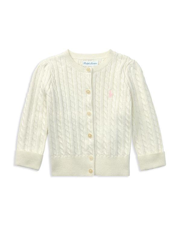 d8921de6e025 Girls  Cable-Knit Cardigan - Baby