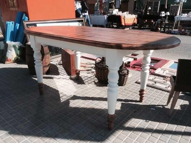 Resultado de imagen para mesa comedor restaurada   muebles ...