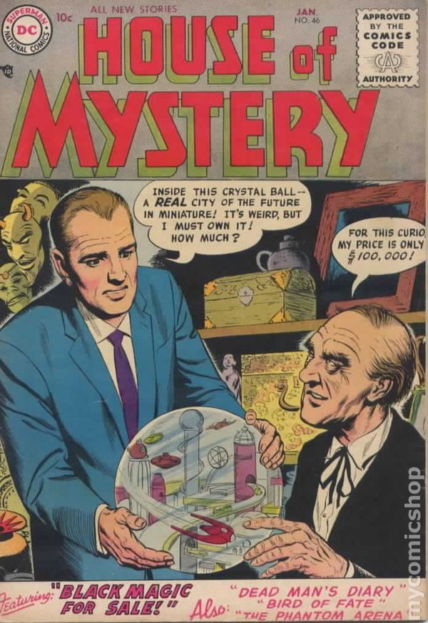 House Of Mystery (1951-1983 1st Series) Comic Books (With