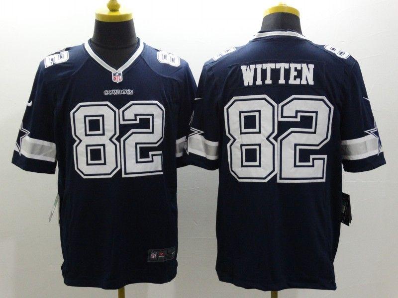 d454af1d7 Dallas Cowboys 82 Witten Blue Nike Limited Jerseys
