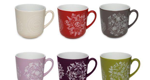صور اشكال والوان مجات مودرن بتصميمات جميلة ميكساتك Glassware Mugs Tableware